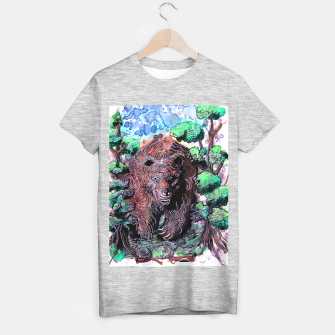 Thumbnail image of Rhetorical Bear T-shirt regular, Live Heroes