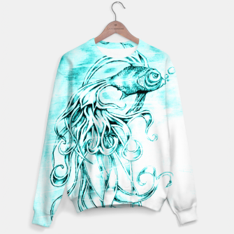 Fighter Fish Sweater imagen en miniatura