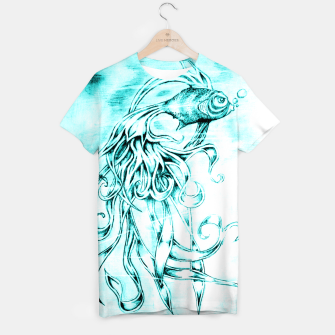 Fighter Fish T-shirt imagen en miniatura