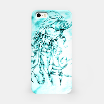Fighter Fish iPhone Case imagen en miniatura