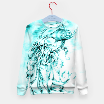 Fighter Fish Kid's Sweater imagen en miniatura