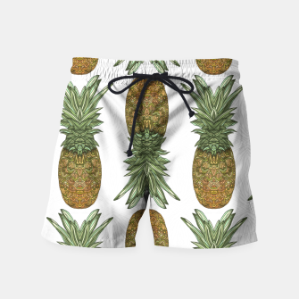Thumbnail image of Pineapples Swim Shorts, Live Heroes