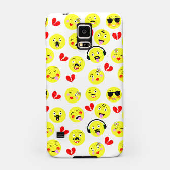 Thumbnail image of Fun Emoji Guys Fashion Trend Samsung Case, Live Heroes