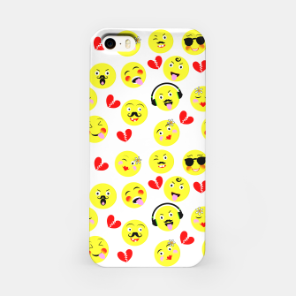 Thumbnail image of Fun Emoji Guys Fashion Trend iPhone Case, Live Heroes
