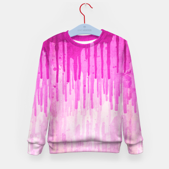 Miniature de image de Pink Grunge Color Splatter Graffiti Backstreet Wall Background  Kid's Sweater, Live Heroes