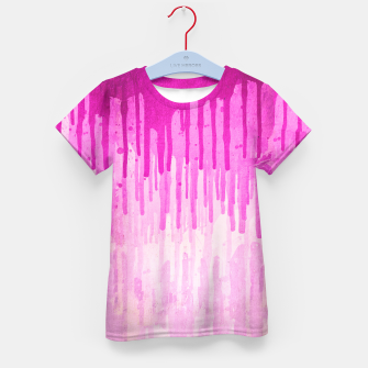 Miniature de image de Pink Grunge Color Splatter Graffiti Backstreet Wall Background  Kid's T-shirt, Live Heroes