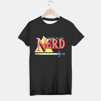 Miniatur Legend of the Nerd T-shirt regular, Live Heroes