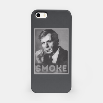 Miniature de image de Smoke! Funny Obama Hope Parody (Smoking Man)  iPhone Case, Live Heroes