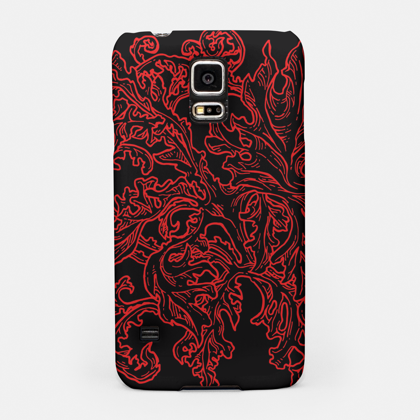 Zdjęcie Floral Ornaments Samsung Case - Live Heroes