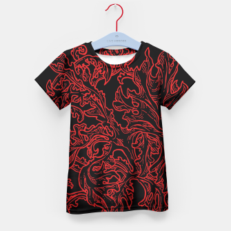 Floral Ornaments Kid's T-shirt obraz miniatury