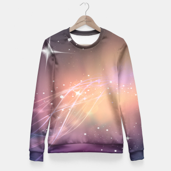 The sound of stars Fitted Waist Sweater obraz miniatury