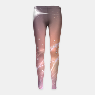 The sound of stars Girl's Leggings obraz miniatury