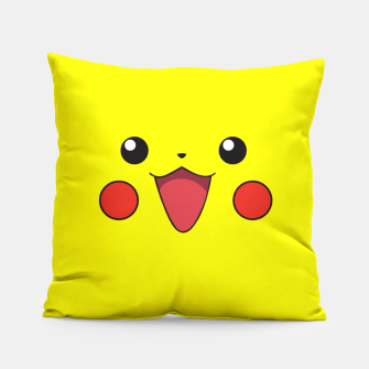 Thumbnail image of Pikachu! Hello! Pillow, Live Heroes