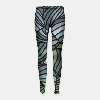 Thumbnail image of vg Girl's Leggings, Live Heroes