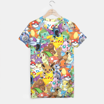 Thumbnail image of Pokemon Go Super Combo T-shirt, Live Heroes