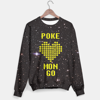 Thumbnail image of Pokemon Go! Black heaven! Sweater, Live Heroes