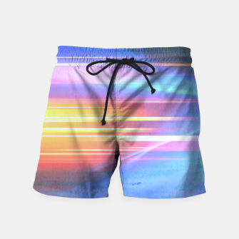 Miniatur Painted light Swim Shorts, Live Heroes