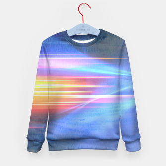 Miniatur Painted light Kid's Sweater, Live Heroes
