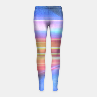 Miniatur Painted light Girl's Leggings, Live Heroes