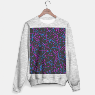 Miniature de image de Abstract Geometric 3D Triangle Pattern in Blue / Pink Sweater regular, Live Heroes