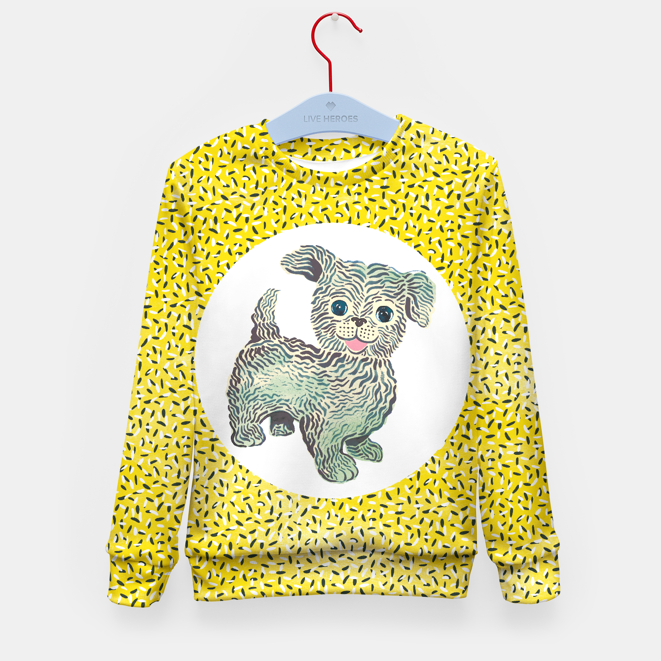Image of Doggy sweater unisex by Veronique de Jong (matching leggings available!) - Live Heroes