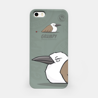 Thumbnail image of Feathered Figures: Grumpy iPhone Case, Live Heroes