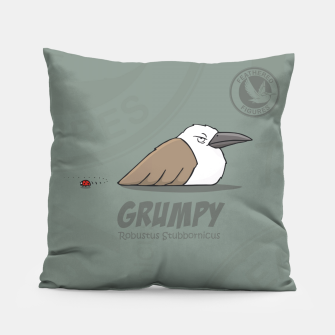 Thumbnail image of Feathered Figures: Grumpy Pillow, Live Heroes