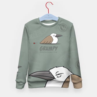 Thumbnail image of Feathered Figures: Grumpy Kid's Sweater, Live Heroes