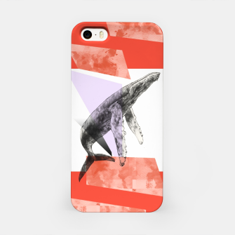 Miniatur Whale goes Eighties iPhone Case, Live Heroes