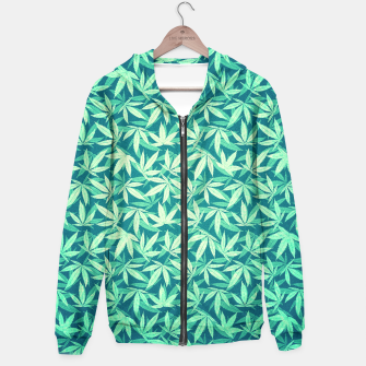 Cannabis / Hemp / 420 / Marijuana  - Pattern Hoodie miniature