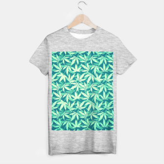 Cannabis / Hemp / 420 / Marijuana  - Pattern T-shirt regular miniature
