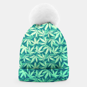 Cannabis / Hemp / 420 / Marijuana  - Pattern Beanie miniature