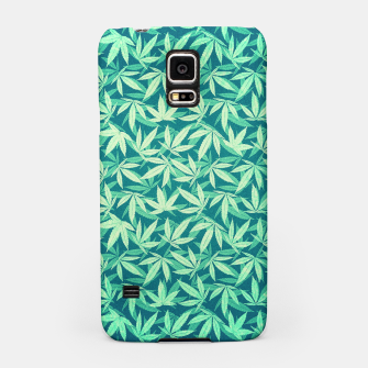 Cannabis / Hemp / 420 / Marijuana  - Pattern Samsung Case miniature