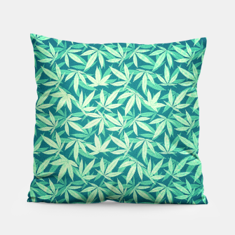 Cannabis / Hemp / 420 / Marijuana  - Pattern Pillow miniature