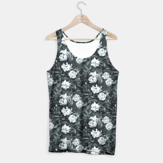 Thumbnail image of Black and white roses Tank Top, Live Heroes