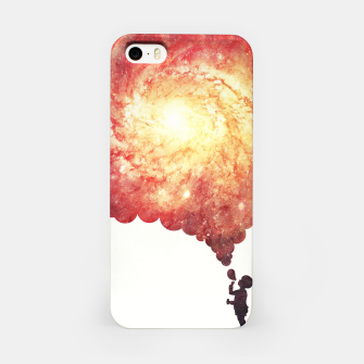 Miniature de image de The universe in a soap-bubble! (Awesome Space / Nebula / Galaxy Negative Space Artwork) iPhone Case, Live Heroes