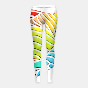 Thumbnail image of dlf Girl's Leggings, Live Heroes