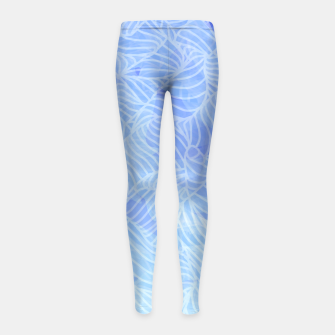 Thumbnail image of dlf2 Girl's Leggings, Live Heroes