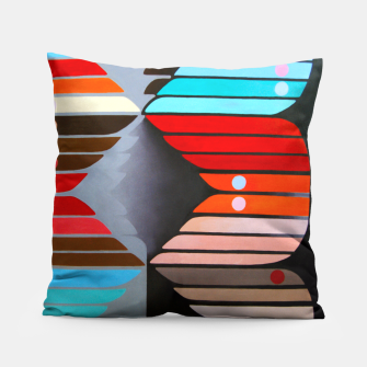 Miniatur Color Line Pillow, Live Heroes