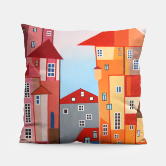 Miniatur Sunny Day Pillow, Live Heroes