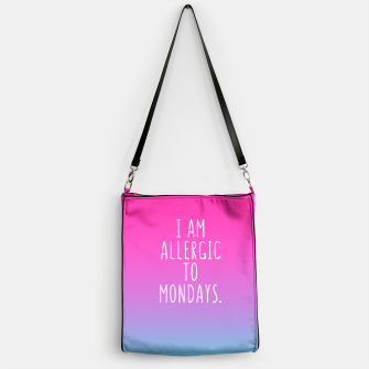 Miniature de image de Allergic to mondays Bag, Live Heroes