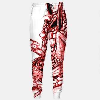 Thumbnail image of Red Dragon Sweatpants, Live Heroes