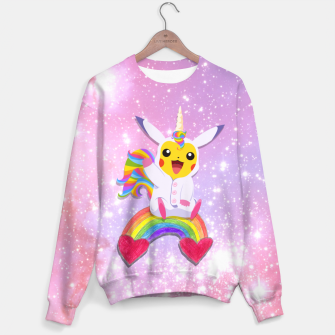 Thumbnail image of Pikachu Unico! Sweater, Live Heroes