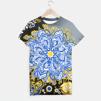 Miniatur Cosmos Sunset T-shirt, Live Heroes
