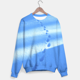 Thumbnail image of Tracks-on-the-snow Sweater, Live Heroes