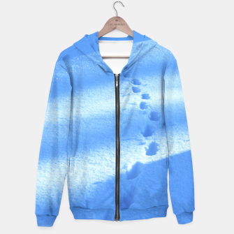 Thumbnail image of Tracks-on-the-snow Hoodie, Live Heroes