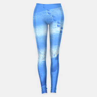 Thumbnail image of Tracks-on-the-snow Leggings, Live Heroes