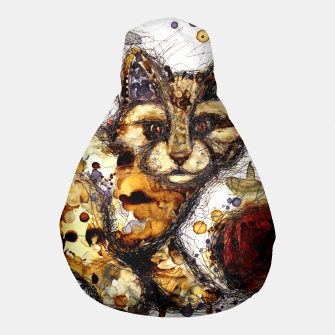 Thumbnail image of Coffee Cat Pouf, Live Heroes
