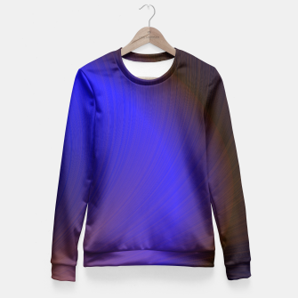 Thumbnail image of Brilliant Spray Fitted Waist Sweater, Live Heroes