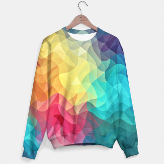 Miniature de image de Abstract Color Wave Flash Sweater, Live Heroes